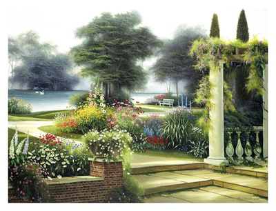 Summer Home Garden Prints by Egidio Antonaccio