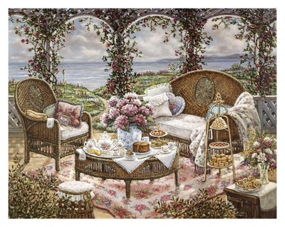 Afternoon Tea Prints by Janet Kruskamp