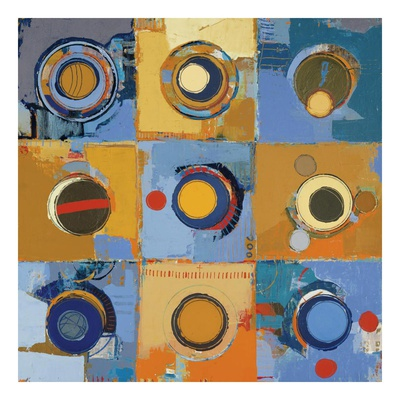 Fibonacci 12 Prints by Sherry Masters