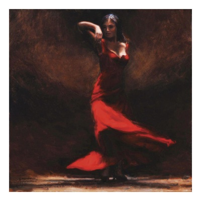 Passion of Flamenco Art Print