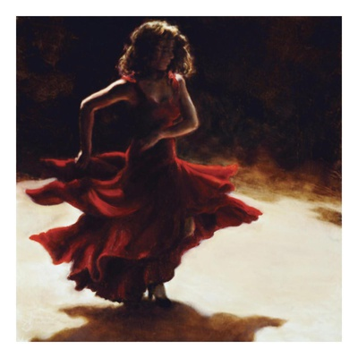 Spirit of Flamenco Art Print