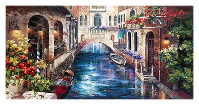 Venice Bridge Prints by Alma Lee