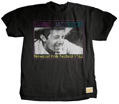 Jack Elliot - Talkin T-shirts by Jim Marshall