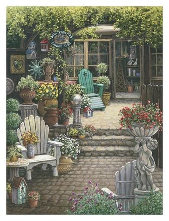 Miss Trawick's Garden Shop Posters by Janet Kruskamp