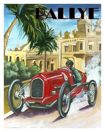 Rallye Posters by Chris Flanagan