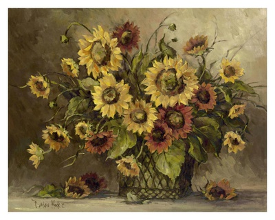 Sunflower Bouquet Stampa artistica