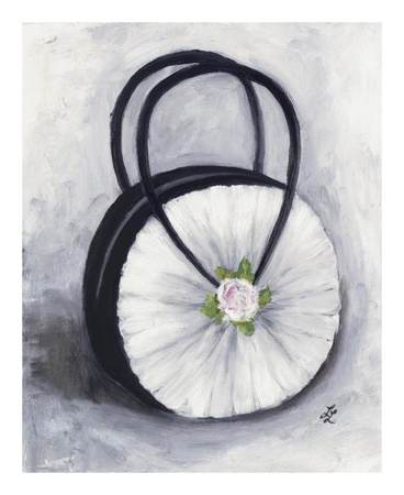 Rose Purse Prints by Laura Linse