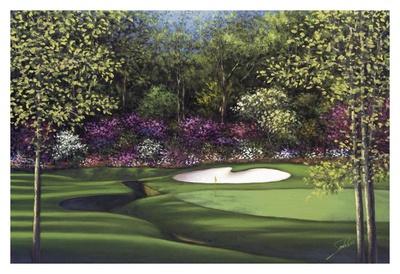 Augusta, 13th Azalea Prints by Joe Sambataro
