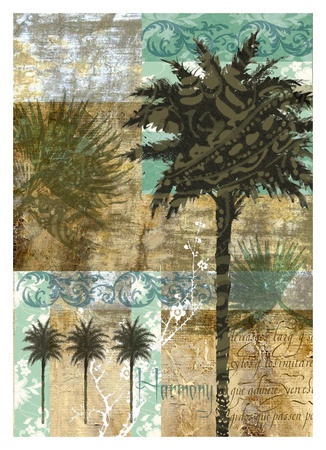 Palm III Posters by Maeve Fitzsimons