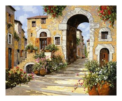 L'entrata al Borgo Prints by  Furtesen
