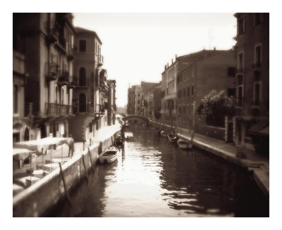 Venetian Canal Posters by David Westby