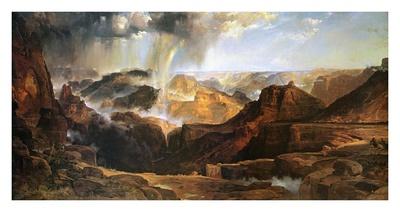 The Chasm of the Colorado Prints by Thomas Moran