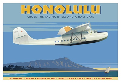 Honolulu Posters by David Grandin