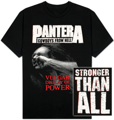 Pantera - Vulgar Display of Power T-shirts