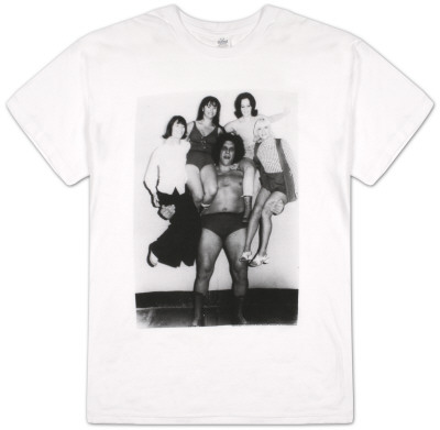 Andre the Giant - Right and Left Camiseta