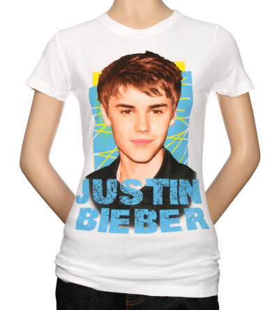 Women's: Justin Bieber - Criss Cross T-Shirt