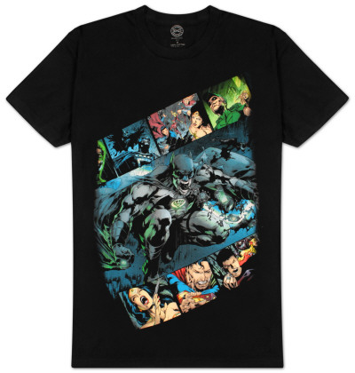 DC Comics - Comic Strip T-Shirt