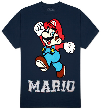 Super Mario Bros. - Mario T-Shirt