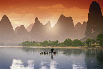 River LI- Tranquil Poster