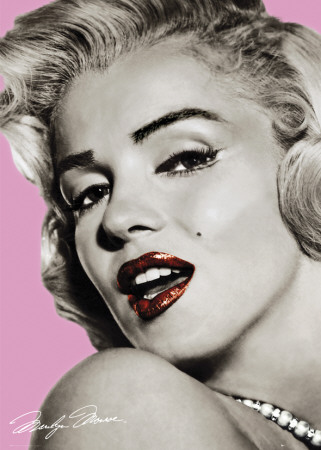 Marilyn Monroe-Lips Giant Poster