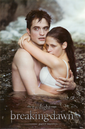 Breaking Dawn - Edward & Bella Water Prints