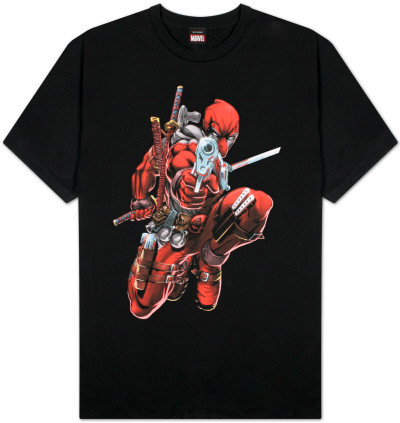 Deadpool - Brace Yourself T-Shirt