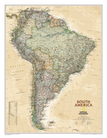 National Geographic South America Executive Style Photo