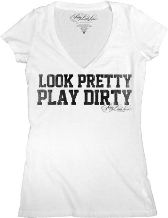 Juniors: Pretty Little Liars - Play Dirty T-Shirt