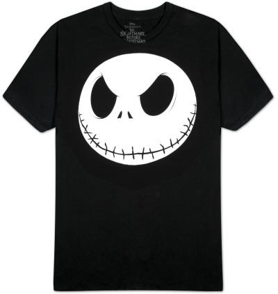 Nightmare Before Christmas - Fat Head (Glow in the Dark) T-Shirt