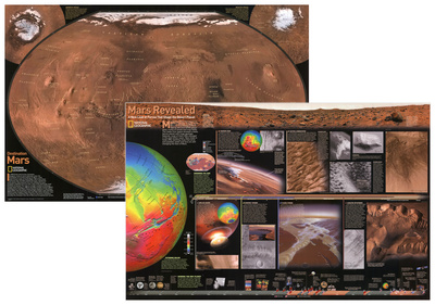 National Geographic Mars Poster