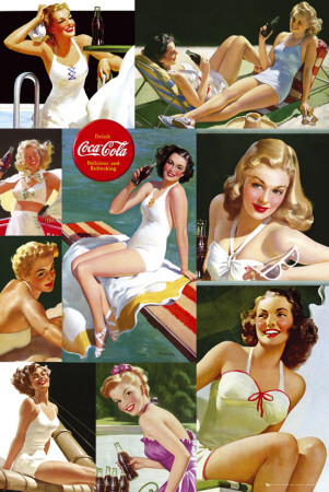Coca Cola-Girls Poster