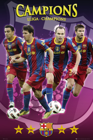 Barcelona-Champions Affiche