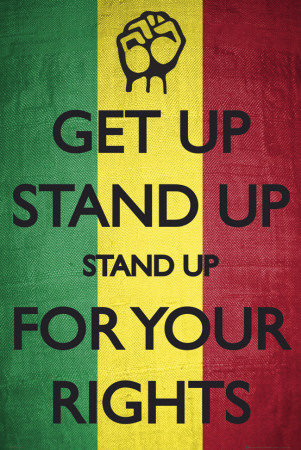 Get Up-Stand Up Poster
