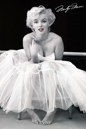Marilyn Monroe-Ballerina Poster