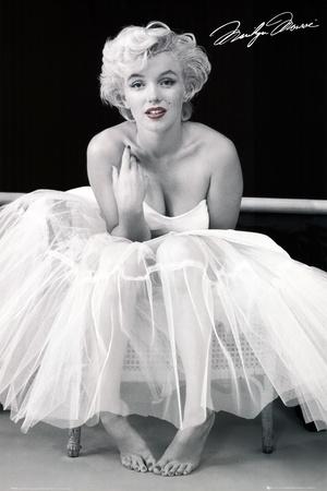 Marilyn Monroe - Bailarina Fotografía