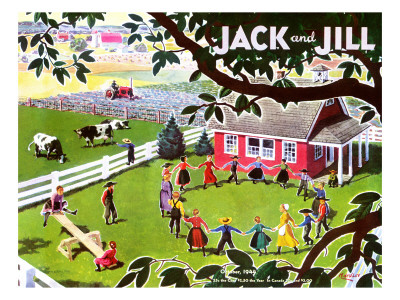 Amish Children - Jack and Jill, October 1944 Giclee Print by Manning de V. Lee