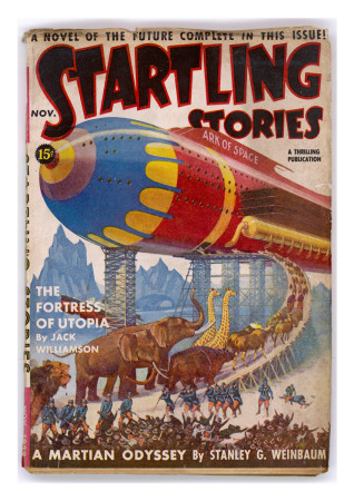 Startling Stories Ark of Space (Animals) Art Print