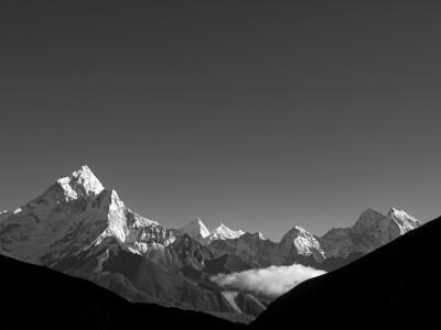 Nepal, Everest Region, Khumbu Valley Photographic Print by Mark Hannaford