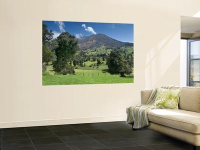 Costa Rica, Turrialba Volcano Wall Mural by John Coletti