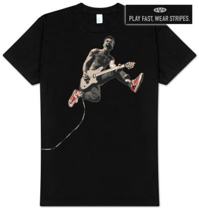 Eddie Van Halen - Edward Jumping Tシャツ