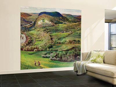 """""""Green Moutains,"""" May 21, 1960 Wall Mural – Large by John Clymer"""