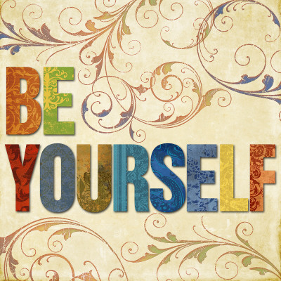 Be Yourself Reproduction d'art