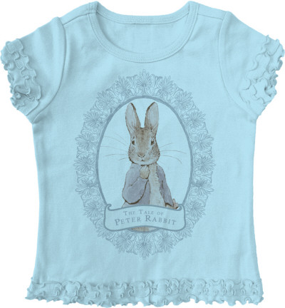 Toddler: Beatrix Potter - Peter Frame T-Shirt