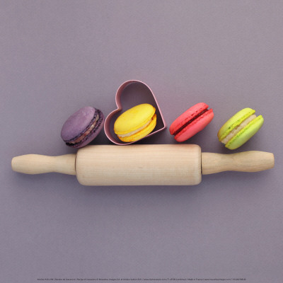 Recipe of Macarons Prints by Amelie Vuillon