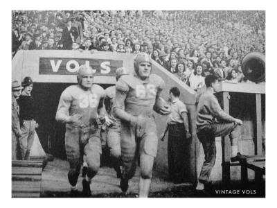 Tennessee Volunteers Football Team Print