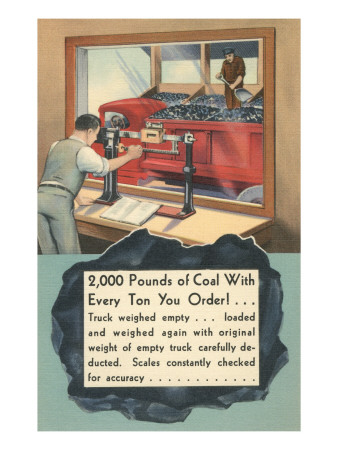 Coal Weight Guaranteed Poster