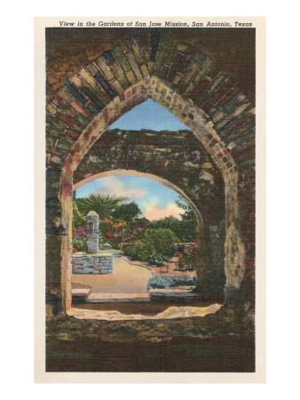 San Jose Mission, San Antonio, Texas Prints