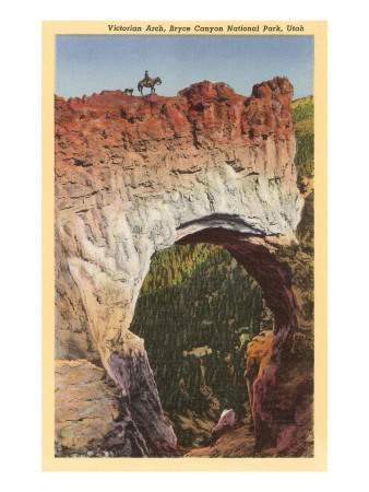 Victorian Arch, Bryce Canyon, Utah Print