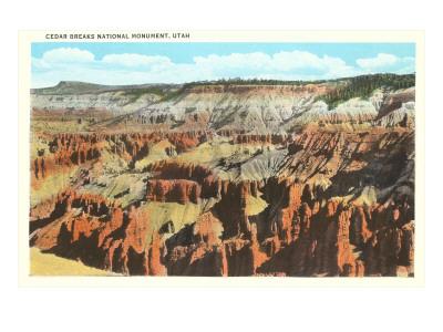 Cedar Brakes National Monument, Utah Poster