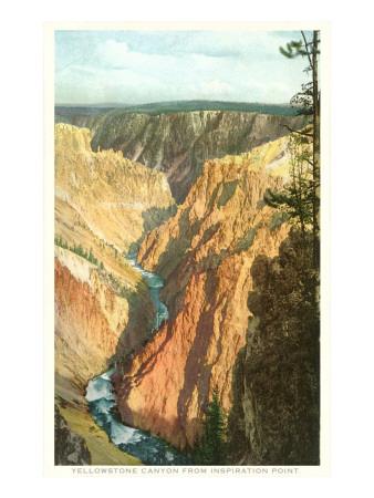 Yellowstone Canyon, Yellowstone National Park Prints